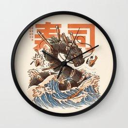 Great Sushi Dragon Wall Clock