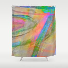 Inside the Rainbow 4 Shower Curtain