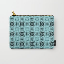 Island Paradise Floral Geometric Carry-All Pouch