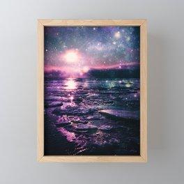Mystic Waters Mermaid Gradient Framed Mini Art Print