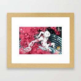 Battle Cats Tribute Framed Art Print