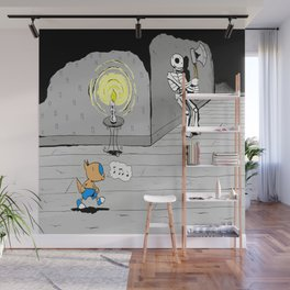 "Quixote Coyote ""Haunted"" Wall Mural"