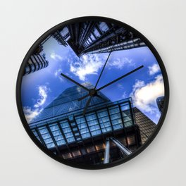 Lloyd's and the Gherkin and Cheese Grater London Wall Clock