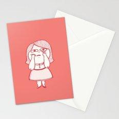 Girl Feelings #1 Stationery Cards