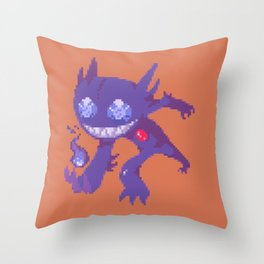 Sinister Sableye Throw Pillow