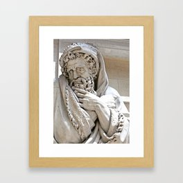Roman Sculpture Framed Art Print