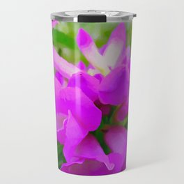 Trumpet Flower 1 Travel Mug