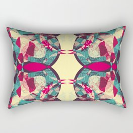Bohemian Art, Abstract Rectangular Pillow