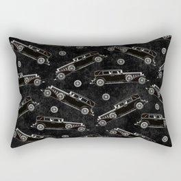 Retro Cadillac car pattern Rectangular Pillow