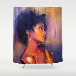 MsEducated Shower Curtain