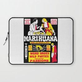 Marijuana Poster (Reefer Madness) Laptop Sleeve