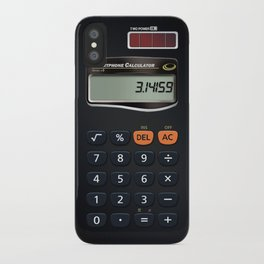 Smartphone Calculator iPhone Case