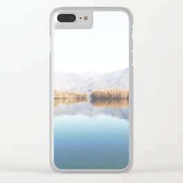 Lake Of Tranquility Clear iPhone Case