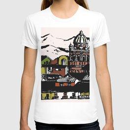 Cuzco - Peru cityview landscape T-shirt