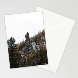 Larches in Snow pt. 2 Stationery Cards