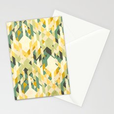 des-integrated tartan pattern Stationery Cards