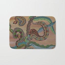 """Serpenti"" by ICA PAVON Bath Mat"