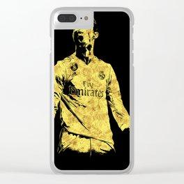 Ronaldo Fan Art Clear iPhone Case