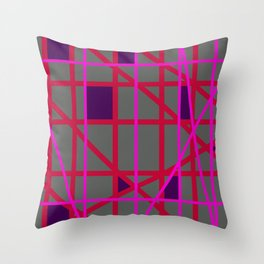 Abstract RF Throw Pillow