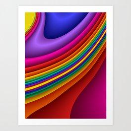 fluid -7- Art Print