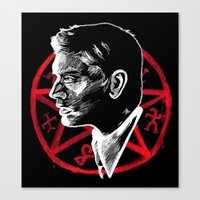supernatural Canvas Prints featuring Supernatural by Grace Mutton