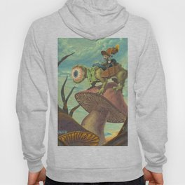 """The Search, 13""""x24"""" Hoody"""