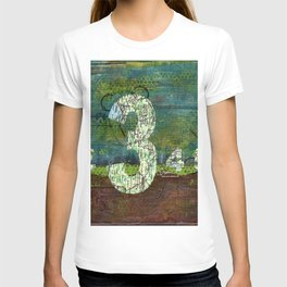 Journey by Number: three comes before four T-shirt