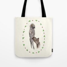 The Common Potoo Tote Bag