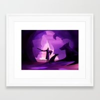 guardians Framed Art Prints featuring Guardians by Fantasticvolk's Magical World