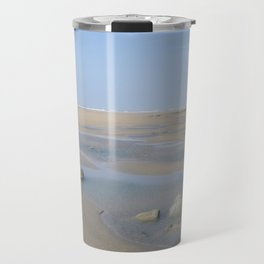 ENDLESS DESERTED BEACH CORNWALL Travel Mug