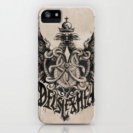 Deus Lex Mea - God is my Light iPhone Case