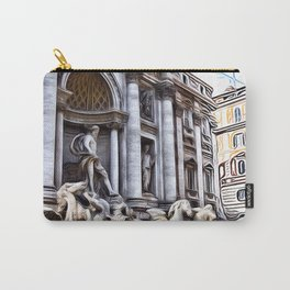 Patterns of Places - Rome Carry-All Pouch