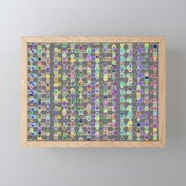 Random Vision 3-76 Framed Mini Art Print