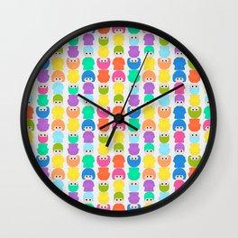 PIN-PON Wall Clock