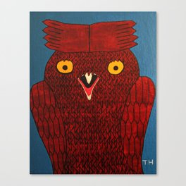 Not So Wise Canvas Print