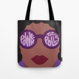 Power To The Polls Tote Bag