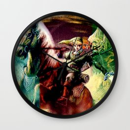 Zelda legend Wall Clock