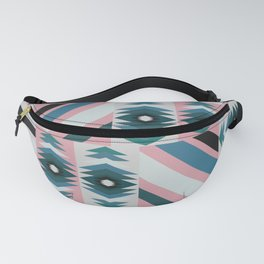 Ethnic quilt pattern Fanny Pack