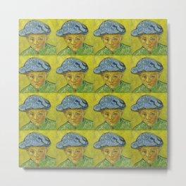 """Vincent van Gogh """"Portrait of Camille Roulin"""" Metal Print"""