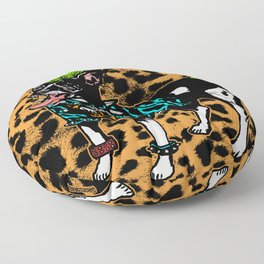 Punk Dog Floor Pillow