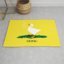 Don't Honk on Me Rug
