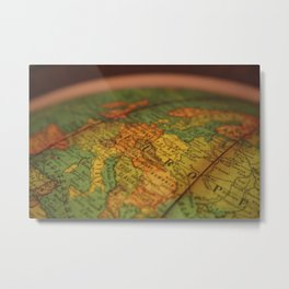 European Adventure Metal Print