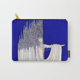 """""""North Sea"""" Art Deco Design by Erté Carry-All Pouch"""