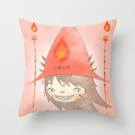 PAULLY POTTER - LICENSED WIZARD Throw Pillow