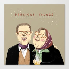 Precious Things Canvas Print