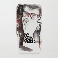 ysl iPhone & iPod Cases featuring YSL by Mitja Bokun