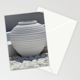 White Calmness Stationery Cards