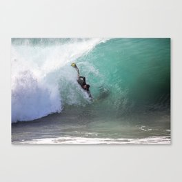 Bodysurfing The Wedge Canvas Print