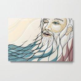 God's Pause Metal Print