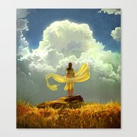 wind Canvas Prints featuring Wind by Artem Rhads Cheboha